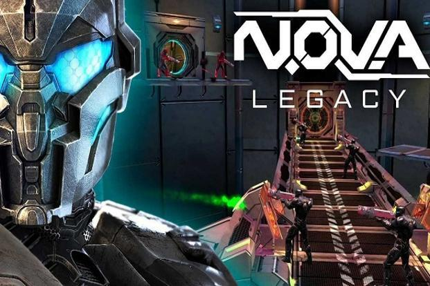 'Nova Legacy' is a remastered and re-released version of Gameloft's classic first-person shooting game 'Nova Saga' for mobile devices.