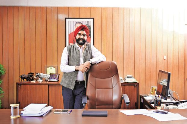 Gujarat Co-operative Milk Marketing Federation MD  R.S. Sodhi says Amul is national, and still only 25% of the organized dairy market. Photo: Jaydip Bhat/Mint