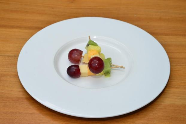 Cheese and Fruits Skewer