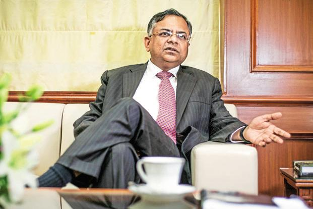 A file photo of Tata Sons executive chairman N. Chandrasekaran. Photo: Aniruddha Chowdhury/Mint