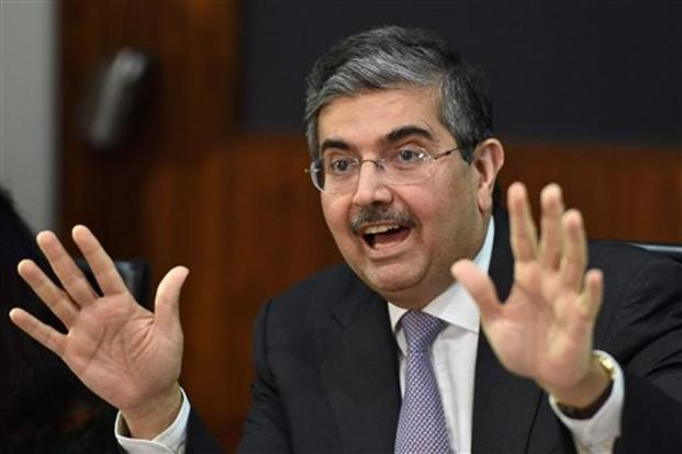 Uday Kotak said he expects the RBI to go in for a status quo at the next week's monetary policy review. Photo: PTI