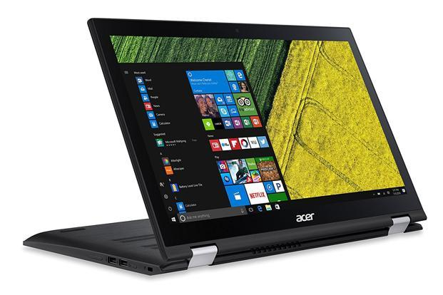 A closer look at Acer Spin 3 reveals finer nuances such as its sturdy build quality (despite the plastic exterior) and the coarse matte finish on the lid which provides better grip when you are carrying the notebook without a case.