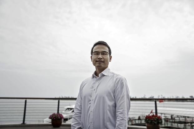 Ming Maa, president of GrabTaxi Holdings. Grab, which introduced GrabPay last year, is racing against Indonesian rival Go-Jek to set up digital wallets for riders. Photo: Bloomberg
