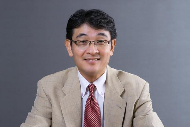 Noriaki Abe, chief executive for Honda's global motorcycle business.