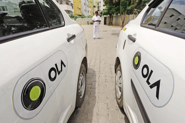 While making payments for their Ola rides, a customer will now have an option called 'Pay by UPI' along with cash, debit card and Ola money wallet option. Photo: HT