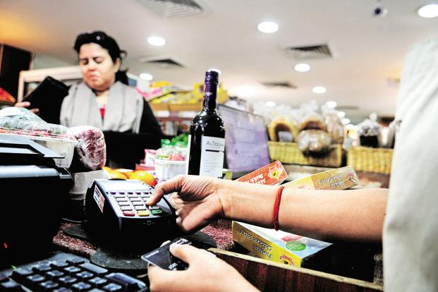 At present, point-of-sale machines are generally available in English or Hindi. Photo: Priyanka Parashar/Mint
