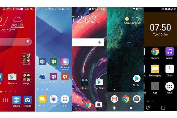 Phone makers try to ensure their phones stand out by changing the interface design, adding new features or enhancing functionality.
