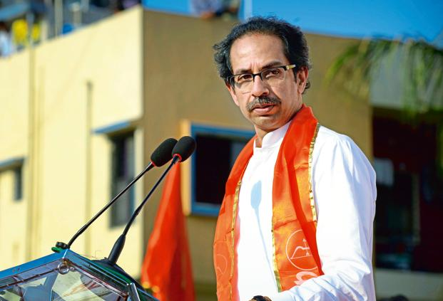 Shiv Sena president Uddhav Thackeray pointed out that by taking the farm loan decision in the first cabinet meeting itself, UP chief minister Yogi Adityanath had proved that the BJP's electoral promise was not a 'jumla'. File photo: Mint