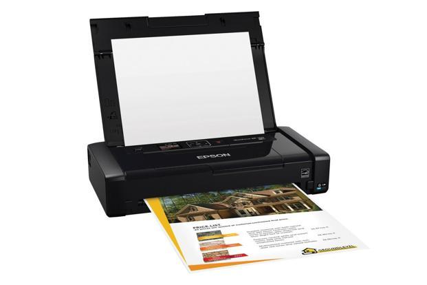 Epson Workforce WF-100's printouts look as good as that of a regular printer, and it works with both smartphones and PCs.