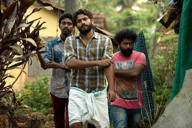 A still from 'Angamaly Diaries'.  The Lijo Jose Pellissery's Malayalam film, which released this month, has 86 debutantes in its cast.