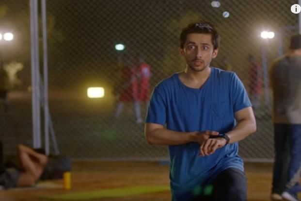 A still grab from Fastrack's Reflex ad.