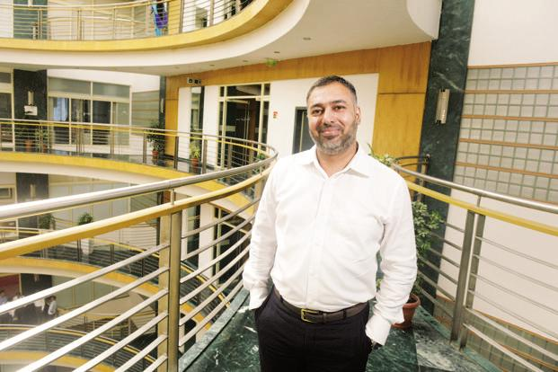 Girish Chaturvedi, group vice-president of digital marketing firm Netcore Solutions. Photo: Abhijit Bhatlekar/ Mint