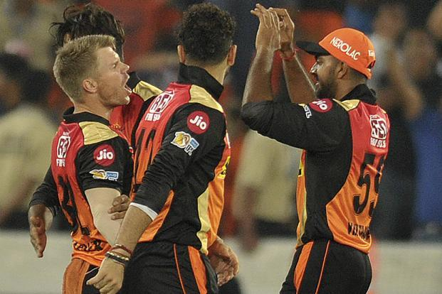 Sunrisers Hyderabad outplayed Royal Challengers Bangalore (RCB) by 35 runs to win the opening game of the 10th edition of Indian Premier League. Photo: AFP