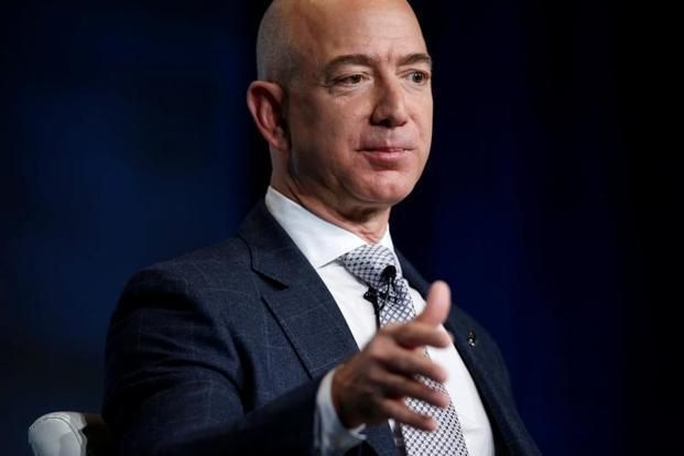 Jeff Bezos is Amazon's largest shareholder, with 80.9 million shares, according to Thomson Reuters data. Photo: Reuters