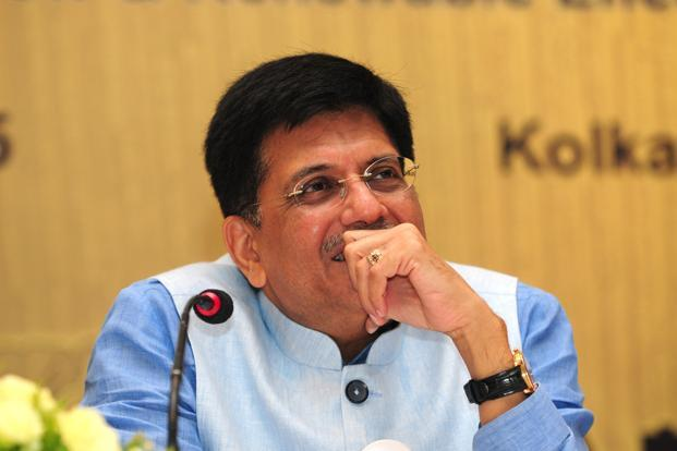 Power minister Piyush Goyal said that when there was a shortage of coal in the past, power projects were designed to work on imported coal. This is adversely affecting offtake of coal at present. File photo: Indranil Bhoumik/Mint
