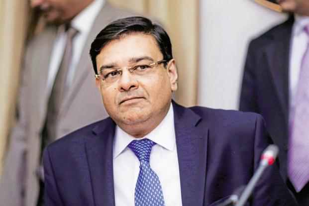 RBI governor Urjit Patel. Photo: Bloomberg