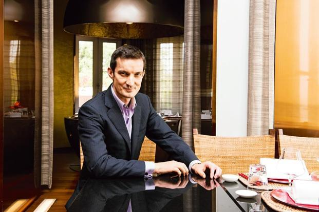 Alexandre Quintin at Taj Mahal Palace hotel in Mumbai. Photo: Aniruddha Chowdhury/Mint