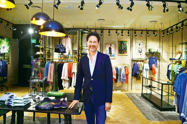 Dirk-Jan Stoppelenburg says Scotch & Soda's target clientele is anyone who likes and understands what the fashion brand does and is prepared to pay what it costs. Photo: Ramesh Pathania/Mint