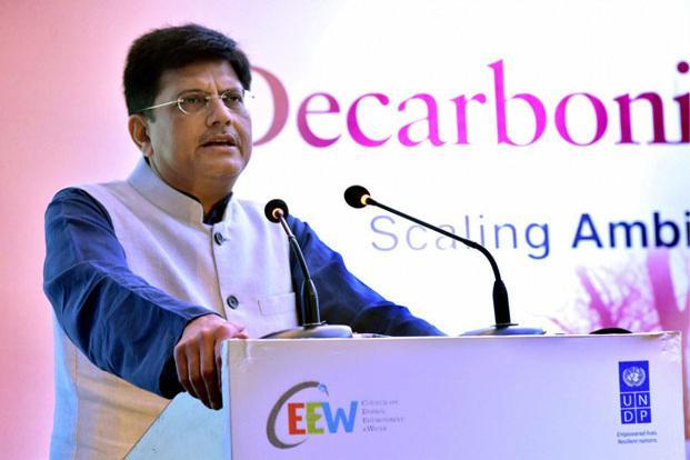 Power minister Piyush Goyal. Photo: PTI