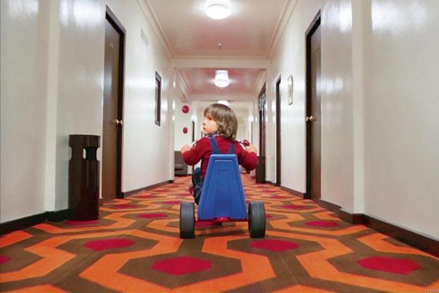 A still from Stanley Kubrick's 'The Shining'.