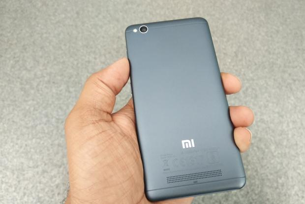 The Redmi 4A is a very different looking device from the recent bunch of metal-clad phones.
