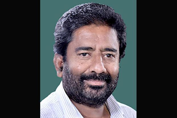 A file photo of Shiv Sena MP Ravindra Gaikwad.