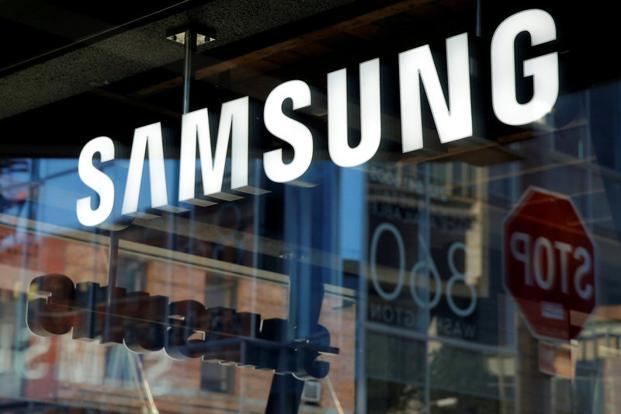 Samsung shares touched a record high of 2.134 million won in late March on expectations of record annual profit in 2017. Photo: Reuters