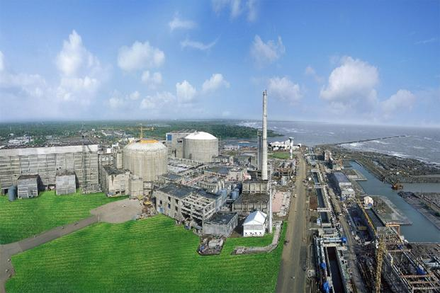 A file photo of a nuclear power station in Thane, Maharashtra. Westinghouse Electric Co was engaged in negotiations to build six AP1000 nuclear reactors in India as part of the landmark US-India civilian nuclear agreement.  Photo: AFP
