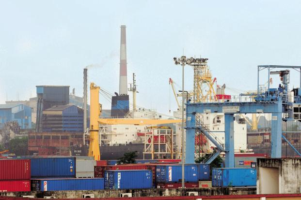 The economy seems to be picking up, perhaps helped by signs of strength in the global economy, which is perhaps why exports have done well in recent months despite a strong rupee Photo: Indranil Bhoumik/Mint