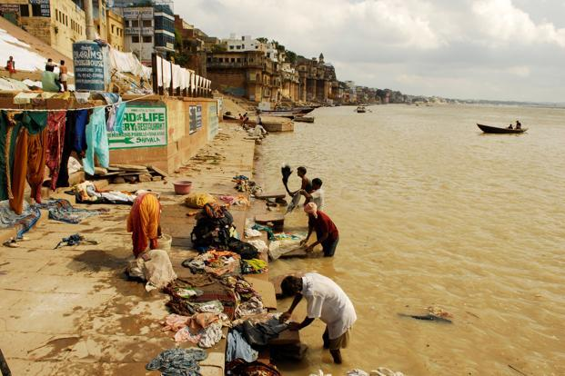The National Mission for Clean Ganga aims to reduce the river's pollution load. Photo: Mint