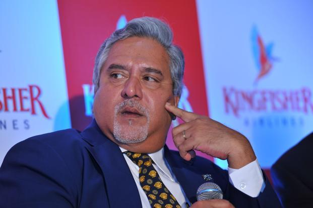 File photo. Vijay Mallya was declared a wilful defaulter and is wanted by authorities for default in payment for loans related to Kingfisher Airlines that was grounded in 2012. Photo: Mint