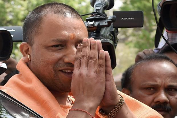 Uttar Pradesh CM Yogi Adityanath. The farm loan waiver scheme will cover small and marginal farmers with debts of up to Rs1 lakh and is expected to cost the state government Rs36,359 crore