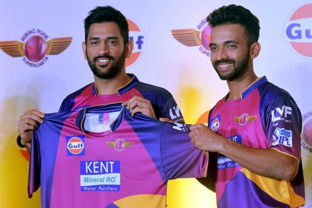 With the likes of in-form Steven Smith, Ajinkya Rahane, costliest player of IPL Ben Stokes, Mahendra Singh Dhoni, Manoj Tiwary in its rank, batting is considered the strongest aspect for the Pune side. Photo: PTI