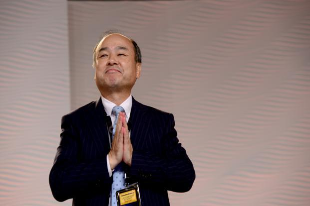 A file photo of SoftBank's Masayoshi Son in New Delhi. Photo: Ramesh Pathania/Mint