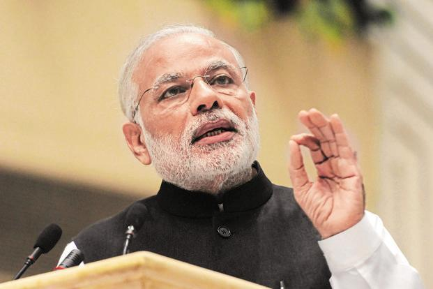 PM Narendra Modi's government has been moving backward on trade despite its 'Act East' policy. Photo: Sonu Mehta/HT