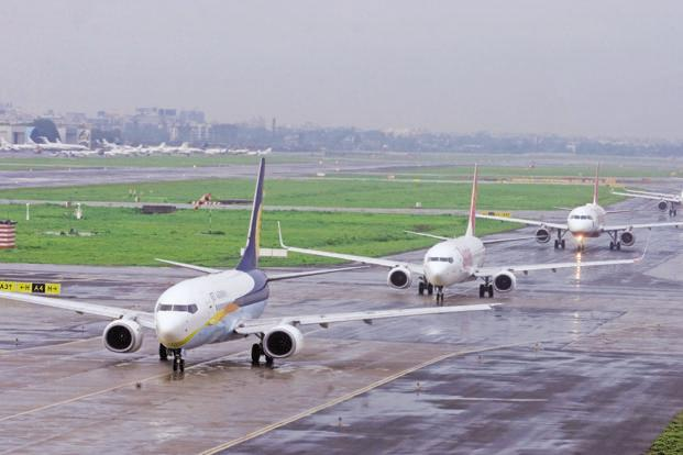 Domestic traffic grew at about 23% while international passenger traffic was at 10%, according to the Directorate General of Civil Aviation. Photo: HT