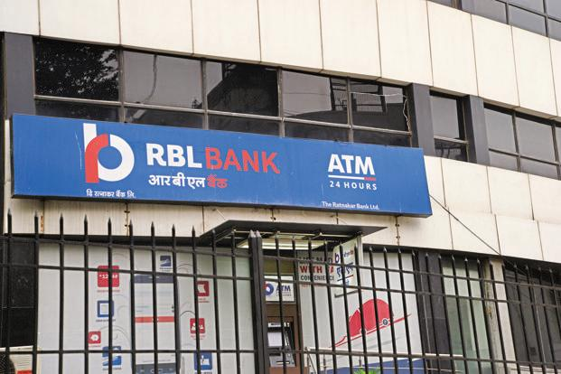 RBL Bank's stock was trading at a new record high of Rs573.05 on the BSE, up 3% from its previous close. Photo: Ramesh Pathania/Mint