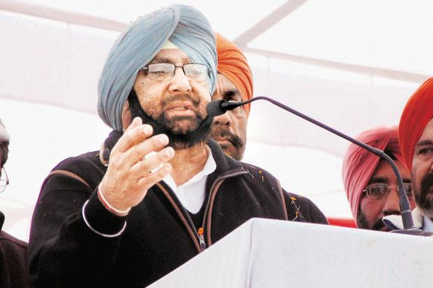Punjab chief minister Amarinder Singh. Photo: PTI