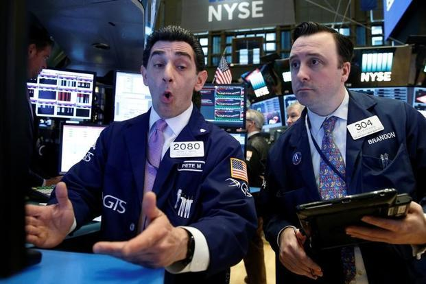 Ten of the eleven major S&P 500 sectors were lower. Photo: Reuters