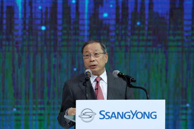 SsangYong is co-developing an electric SUV with Mahindra, which it plans to start selling by 2020, said CEO and president Choi Johng-sik in Mumbai on Tuesday. Photo: Bloomberg