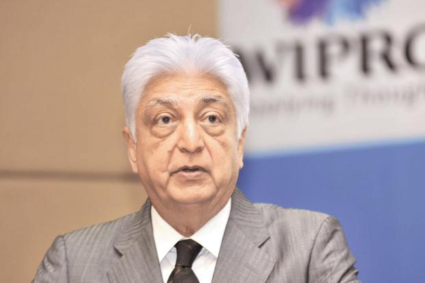 Azim Premji, chairman of Wipro Ltd and India's fifth-richest man, has seen his shares slide amid the H1B visa curbs in US. Photo: Aniruddha Chowdhury/Mint
