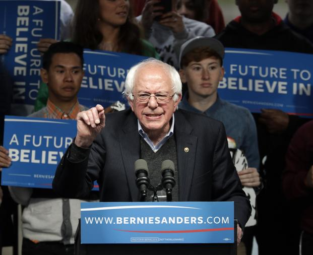 As US senator Bernie Sanders recently pointed out, the Walton family, which owns Walmart, now owns more wealth than the bottom 42% of the US population. Photo: AP