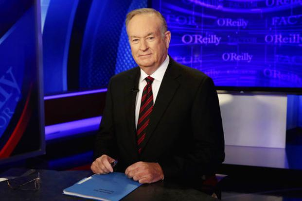 Fox News host Bill O'Reilly. Photo: AP