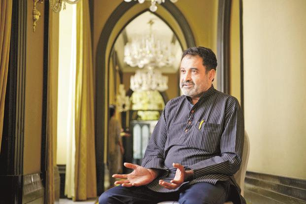 A file photo of T.V. Mohandas Pai. Photo: Abhijit Bhatlekar/Mint