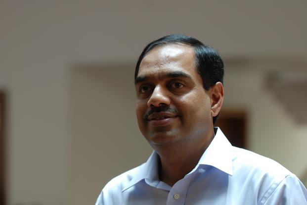 Former Infosys CFO V. Balakrishnan says the appointment of Ravi Venkatesan as co-chairman would make the Infosys board more complex. Photo: Hemant Mishra/Mint