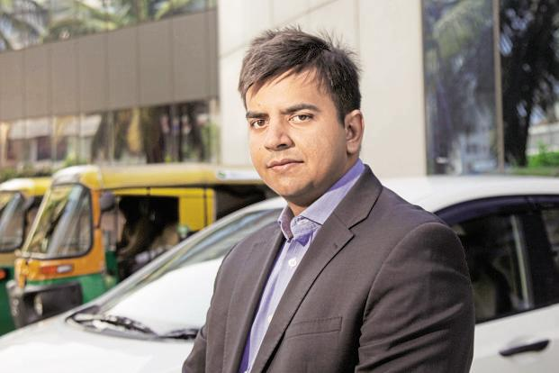 Ola founder Bhavish Aggarwal. The online taxi firm is in fundraising talks with new investors to get at least $500 million more. Photo: Bloomberg