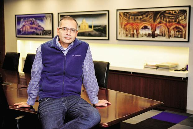 MakeMyTrip CEO Deep Kalra. The firm acquired rival online travel agent Goibibo in October. Photo: Pradeep Gaur/Mint