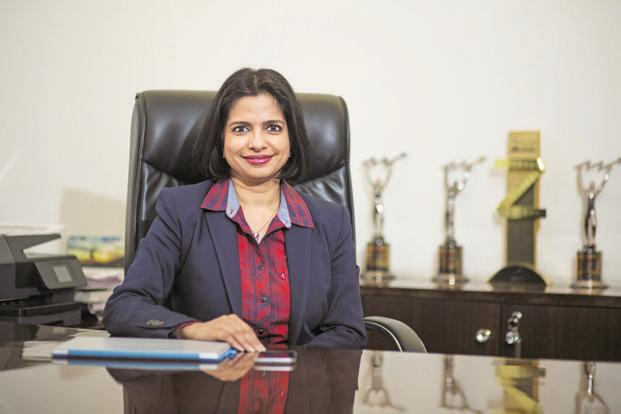 Eros group chief executive officer Jyoti Deshpande. Photo: Nayan Shah/Mint
