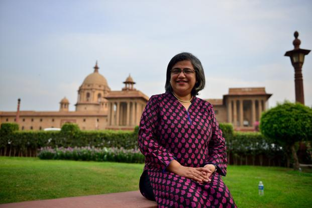 Roopa Kudva, managing director of Omidyar Network India Advisors.  Photo: Pradeep Gaur/Mint
