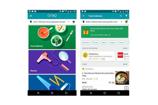 As of now Google Areo  offers very few options and is available to users in just two Indian cities, Bangalore and Mumbai.